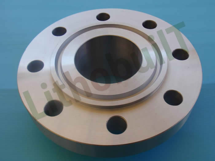 High neck flange