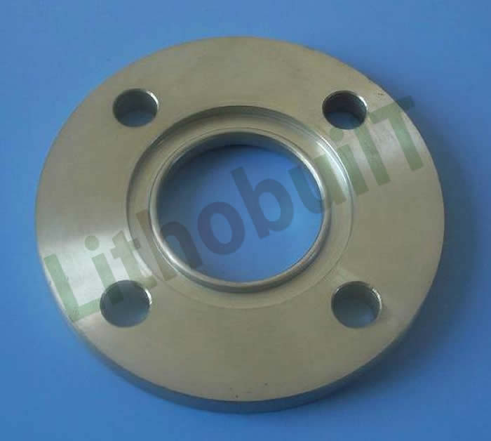 Ring joint face flange